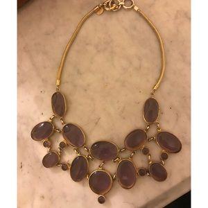 Julie Vos purple stone necklace